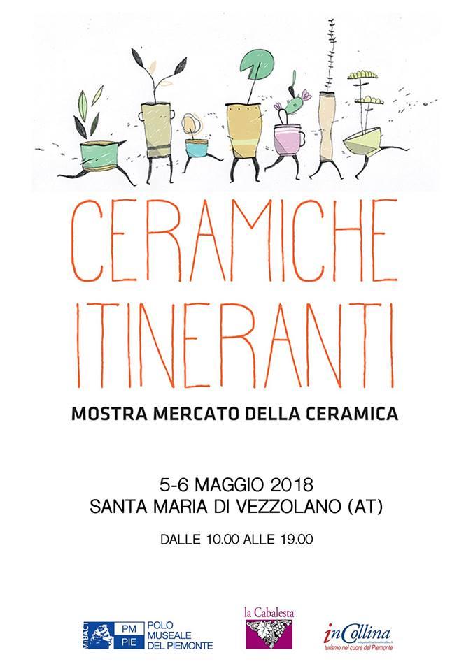 Ceramiche Itineranti all'Abbazia di Vezzolano, 4-5 maggio 2018